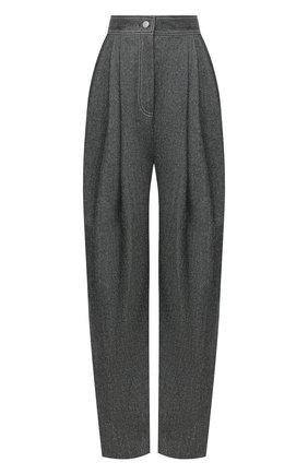 Женские брюки из шерсти и шелка VIKA GAZINSKAYA черного цвета, арт. FW20-1733 | Фото 1