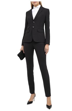Женский шерстяной костюм DSQUARED2 серого цвета, арт. S75FT0208/S40320 | Фото 1