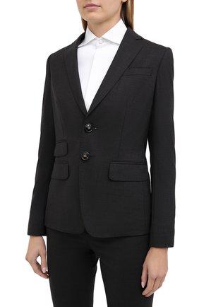 Женский шерстяной костюм DSQUARED2 серого цвета, арт. S75FT0208/S40320 | Фото 2