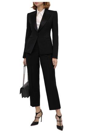 Женский шерстяной жакет TOM FORD черного цвета, арт. GI2755-FAX733 | Фото 2