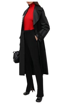 Женская шерстяная водолазка TAK.ORI красного цвета, арт. SWK50019WV100AW20 | Фото 2