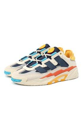 Мужские комбинированные кроссовки niteball ADIDAS ORIGINALS разноцветного цвета, арт. FV4842 | Фото 1