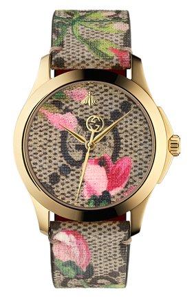 Женские часы g-timeless GUCCI разноцветного цвета, арт. YA1264038 | Фото 1