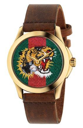 Женские часы le marché des merveilles GUCCI разноцветного цвета, арт. YA126497 | Фото 1
