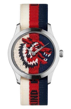 Женские часы g-timeless GUCCI разноцветного цвета, арт. YA1264059 | Фото 1