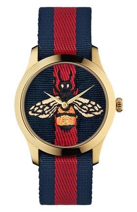 Женские часы g-timeless GUCCI разноцветного цвета, арт. YA1264061 | Фото 1