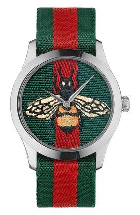 Женские часы g-timeless GUCCI разноцветного цвета, арт. YA1264060 | Фото 1