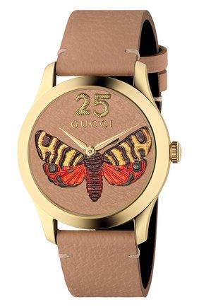 Женские часы g-timeless GUCCI разноцветного цвета, арт. YA1264063 | Фото 1