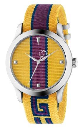 Женские часы g-timeless GUCCI разноцветного цвета, арт. YA1264069 | Фото 1