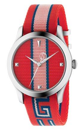 Женские часы g-timeless GUCCI разноцветного цвета, арт. YA1264070 | Фото 1