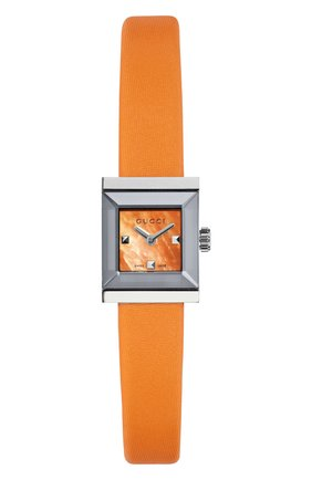 Женские часы g-frame GUCCI оранжевого цвета, арт. YA128532 | Фото 1