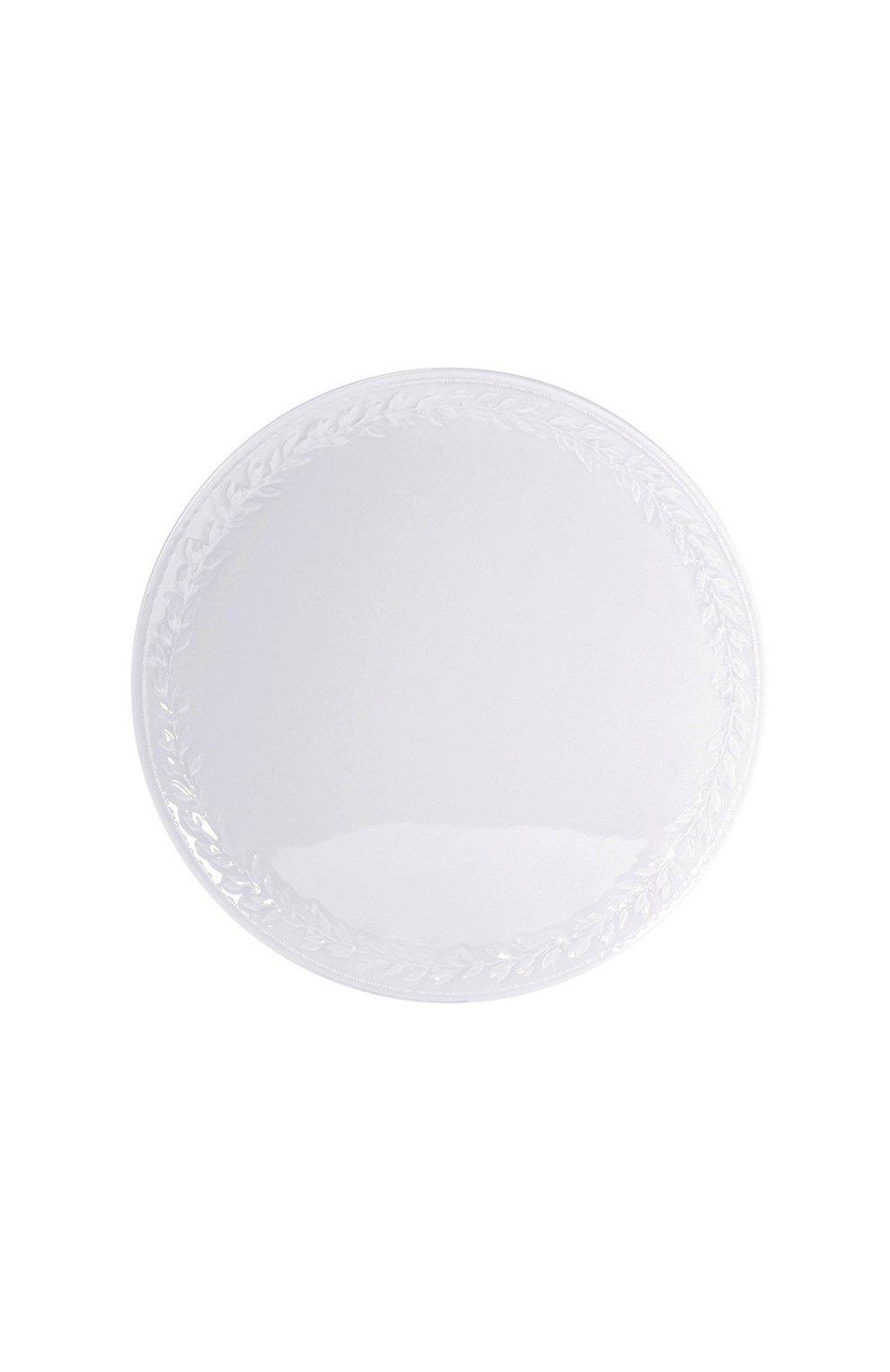 Мужского блюдо для торта louvre BERNARDAUD белого цвета, арт. 0542/121   Фото 1