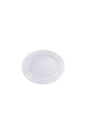 Мужского блюдо для солений louvre BERNARDAUD белого цвета, арт. 0542/125 | Фото 1