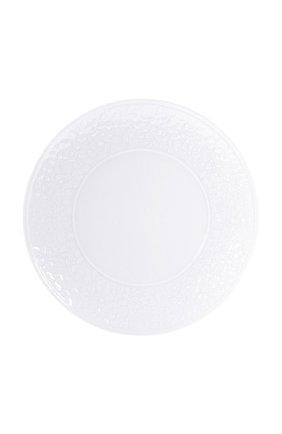 Мужского тарелка сервировочная louvre BERNARDAUD белого цвета, арт. 0542/20253 | Фото 1