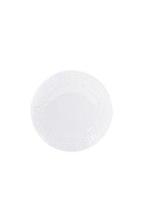 Тарелка обеденная louvre BERNARDAUD белого цвета, арт. 0542/20695 | Фото 1