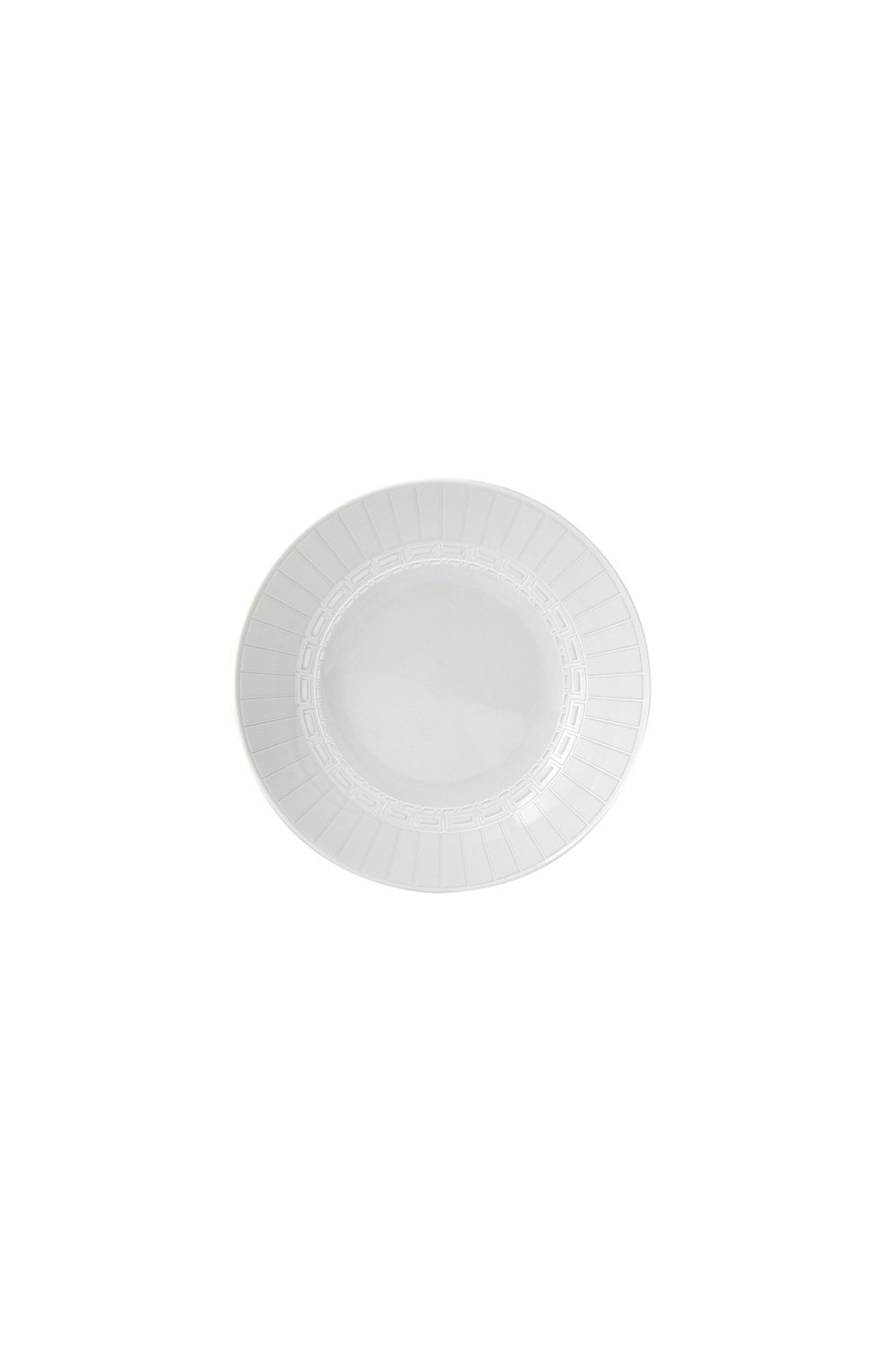 Мужского тарелка суповая louvre BERNARDAUD белого цвета, арт. 0542/22469   Фото 1