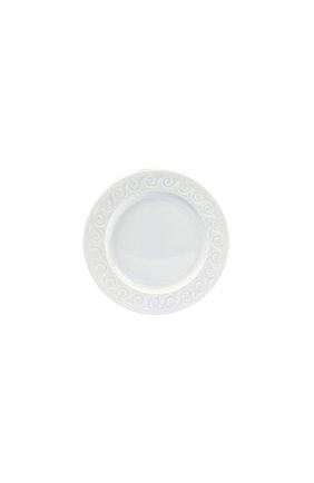 Мужского тарелка десертная louvre BERNARDAUD белого цвета, арт. 0542/19 | Фото 1