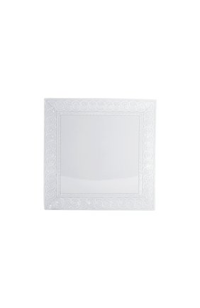Мужского тарелка обеденная louvre BERNARDAUD белого цвета, арт. 0542/21790 | Фото 1
