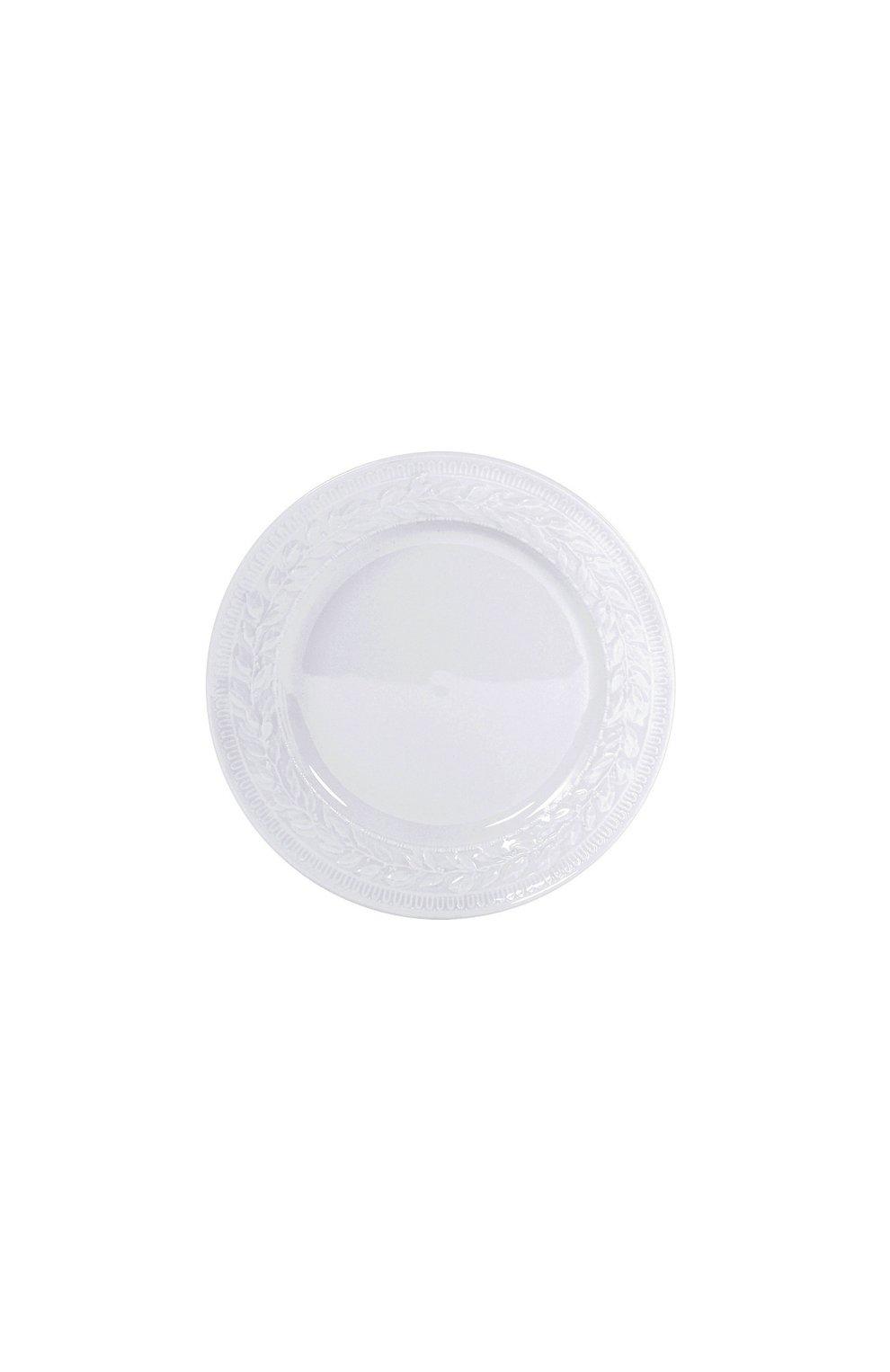 Мужского тарелка салатная louvre BERNARDAUD белого цвета, арт. 0542/17   Фото 1