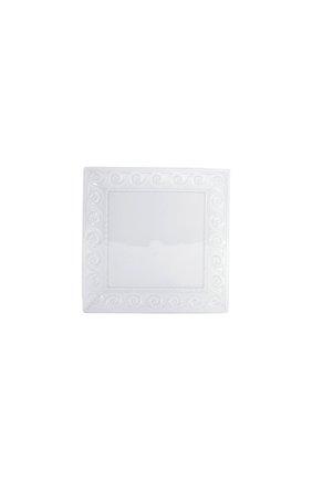 Мужского тарелка салатная louvre BERNARDAUD белого цвета, арт. 0542/21791 | Фото 1