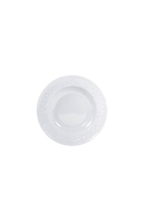 Мужского тарелка суповая louvre BERNARDAUD белого цвета, арт. 0542/23 | Фото 1