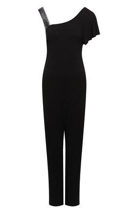 Женский комбинезон из вискозы ANTIGEL черного цвета, арт. ESA3050 | Фото 1