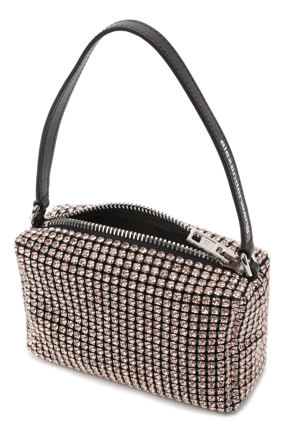 Женская сумка ALEXANDER WANG бежевого цвета, арт. 20C220P260   Фото 4