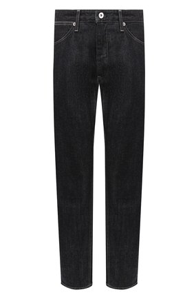 Женские джинсы JIL SANDER темно-синего цвета, арт. JPPR663107-WR246200   Фото 1