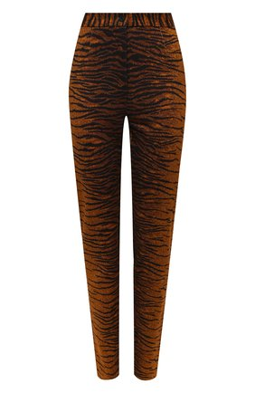 Женские брюки из вискозы KENZO коричневого цвета, арт. FA62PA7264SV | Фото 1