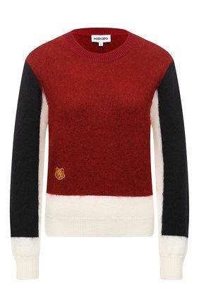 Женский свитер KENZO разноцветного цвета, арт. FA62PU5113AF | Фото 1