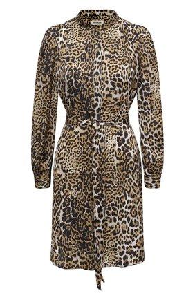 Женское платье ZADIG&VOLTAIRE леопардового цвета, арт. WJCP0426F | Фото 1
