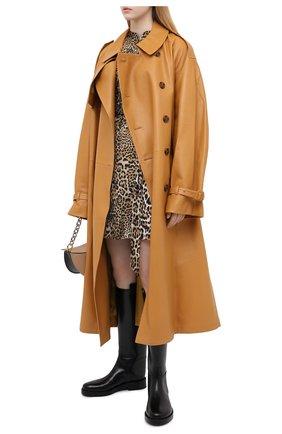 Женское платье ZADIG&VOLTAIRE леопардового цвета, арт. WJCP0426F | Фото 2