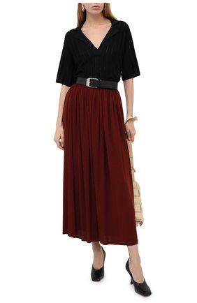 Женская юбка PROENZA SCHOULER бордового цвета, арт. R2035032-JY069   Фото 2