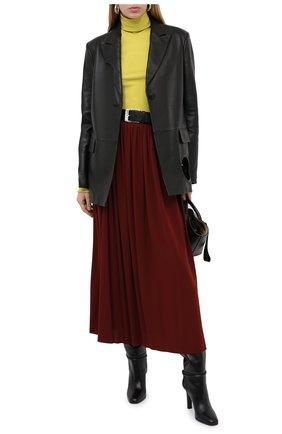 Женская юбка PROENZA SCHOULER бордового цвета, арт. R2035032-JY069   Фото 3