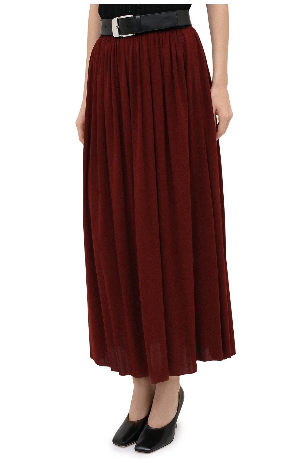 Женская юбка PROENZA SCHOULER бордового цвета, арт. R2035032-JY069   Фото 4