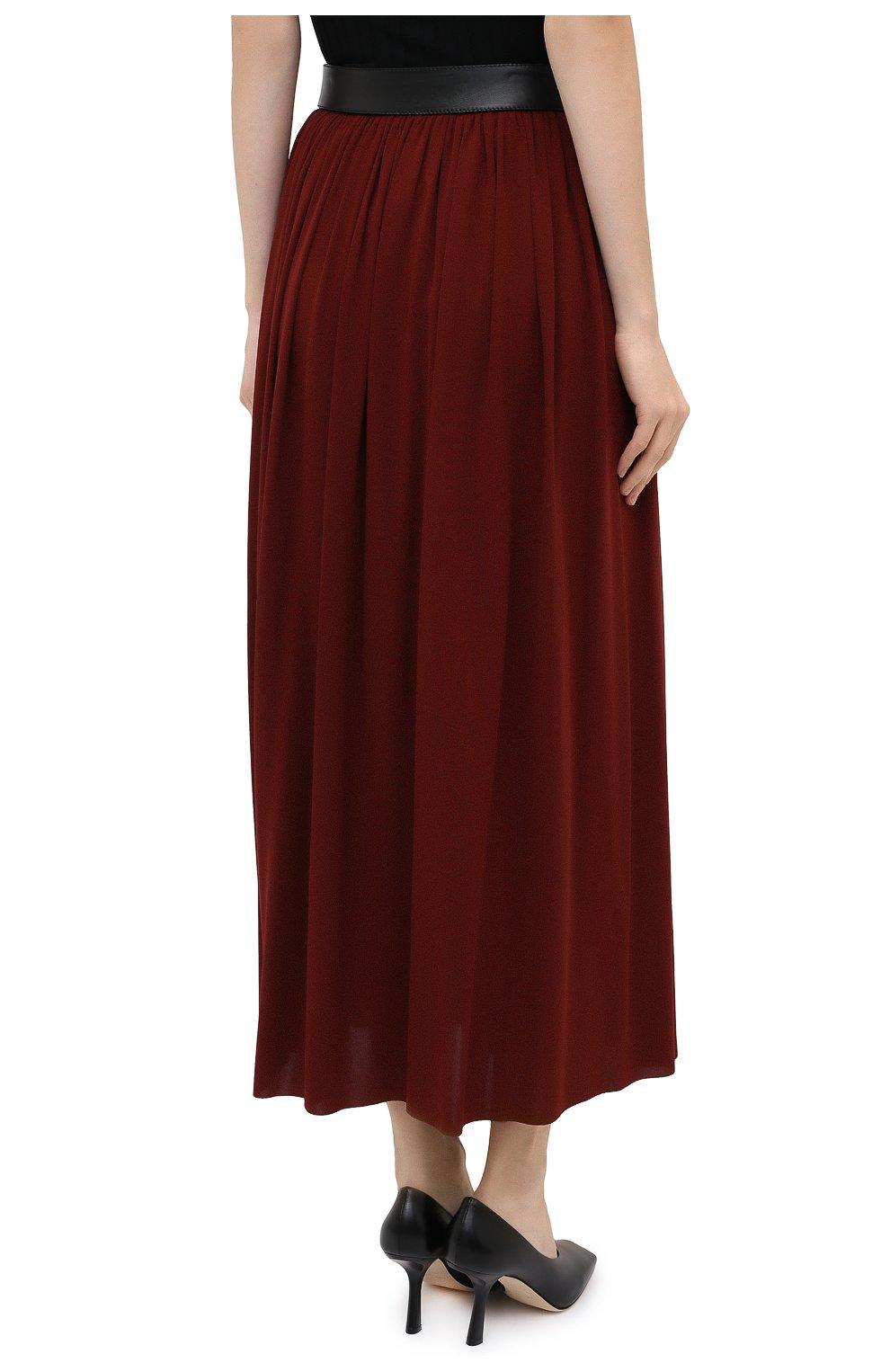Женская юбка PROENZA SCHOULER бордового цвета, арт. R2035032-JY069   Фото 5