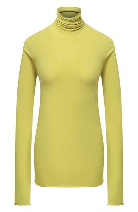 Женская водолазка BOTTEGA VENETA светло-зеленого цвета, арт. 640821/VKJK0 | Фото 1