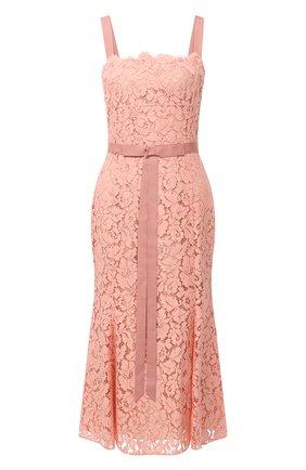 Женское платье OSCAR DE LA RENTA светло-розового цвета, арт. 20PN2100PRL | Фото 1