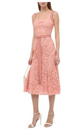 Женское платье OSCAR DE LA RENTA светло-розового цвета, арт. 20PN2100PRL | Фото 2