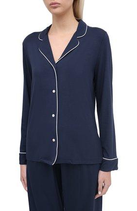 Женская пижама DEREK ROSE синего цвета, арт. 2033-LARA001 | Фото 2