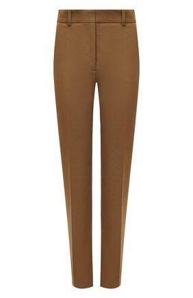 Женские брюки из вискозы и хлопка JOSEPH светло-коричневого цвета, арт. JP000971   Фото 1