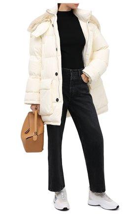 Женские кожаные кроссовки shegoes VALENTINO белого цвета, арт. UW2S0AB1/XZX | Фото 2
