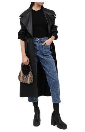 Женские джинсы STELLA MCCARTNEY синего цвета, арт. 601792/S0H02 | Фото 2