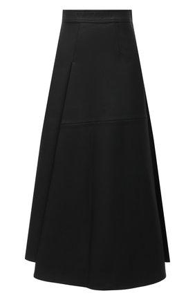 Женская юбка VIKA GAZINSKAYA черного цвета, арт. FW20-1834 | Фото 1