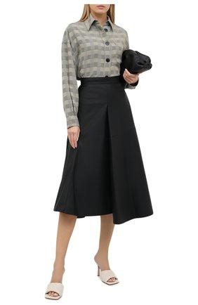 Женская юбка VIKA GAZINSKAYA черного цвета, арт. FW20-1834 | Фото 2
