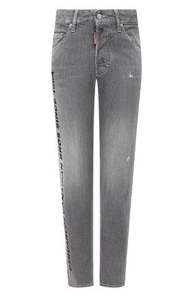 Женские джинсы DSQUARED2 светло-серого цвета, арт. S75LB0343/S30260   Фото 1