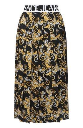 Женская юбка VERSACE JEANS COUTURE разноцветного цвета, арт. A9HZA303-ZDP817/S0835 | Фото 1