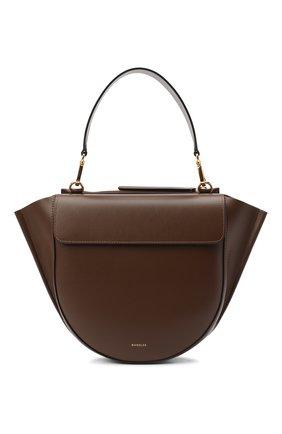 Женская сумка hortensia medium WANDLER коричневого цвета, арт. H0RTENSIA BAG MEDIUM | Фото 1