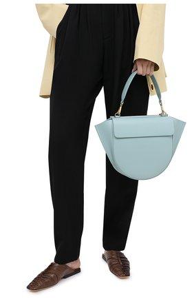 Женская сумка hortensia medium WANDLER голубого цвета, арт. H0RTENSIA BAG MEDIUM | Фото 2