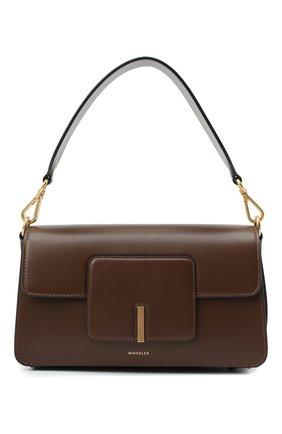 Женская сумка georgia WANDLER коричневого цвета, арт. GE0RGIA BAG | Фото 1